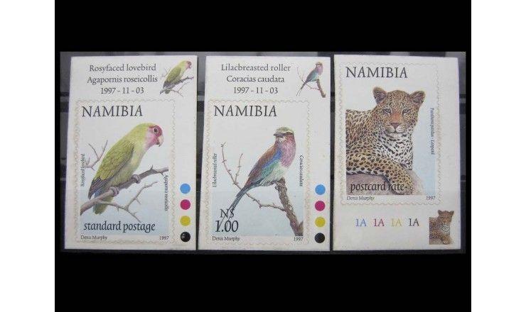 """Намибия 1997 г. """"Животные"""" самоклейка"""
