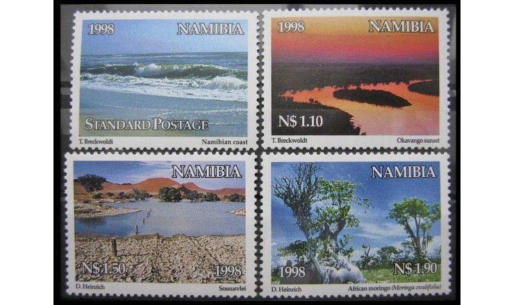 "Намибия 1998 г. ""Ландшафты"""