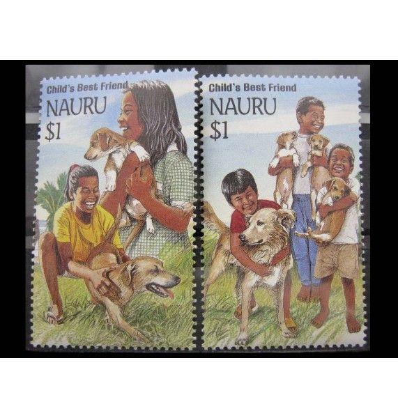 """Науру 1994 г. """"Китайский Новый год: Год собаки"""""""