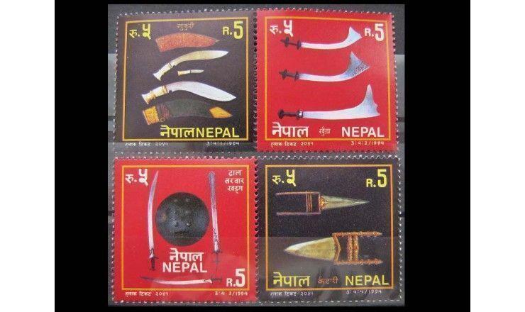 """Непал 1994 г. """"Традиционное оружие"""""""
