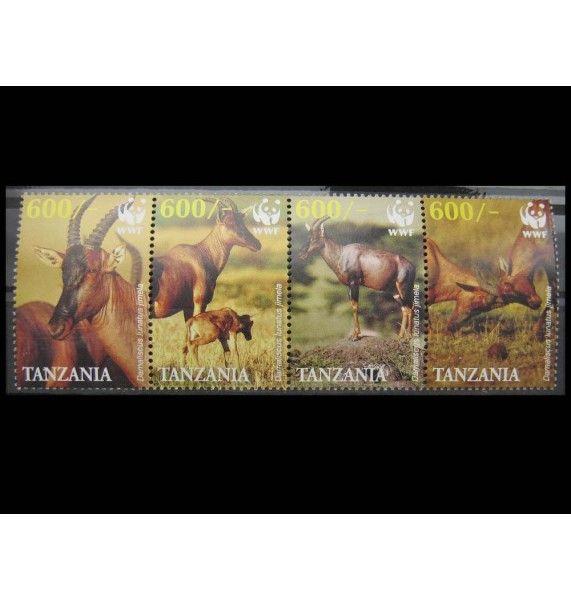 """Танзания 2006 г. """"Антилопы"""""""