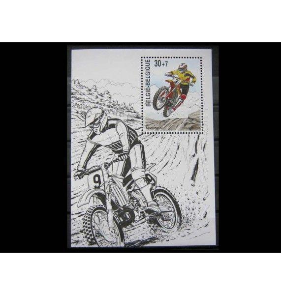 """Бельгия 1999 г. """"Спорт: Мотоциклетный спорт"""""""