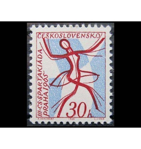 "Чехословакия 1965 г. ""Национальная спартакиада"""