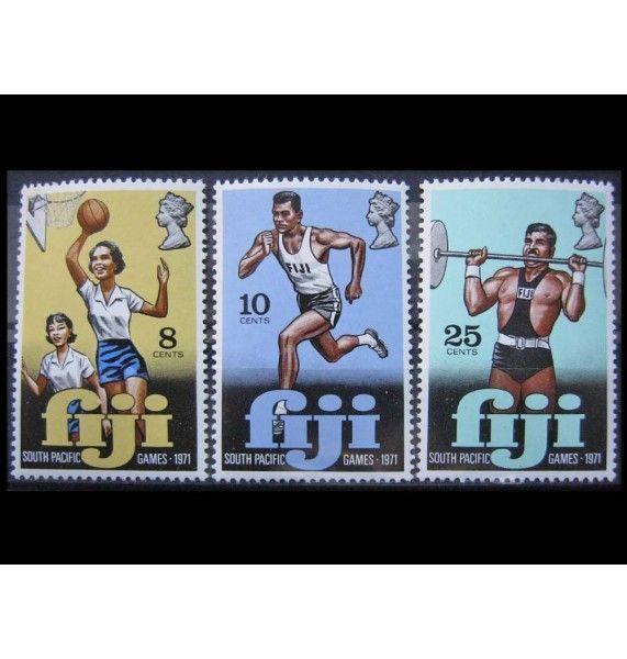 """Фиджи 1971 г. """"Южно-тихоокеанские спортивные игры, Папеэте"""""""