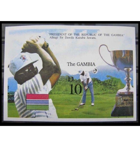 """Гамбия 1992 г. """"Открытый чемпионат по гольфу"""""""