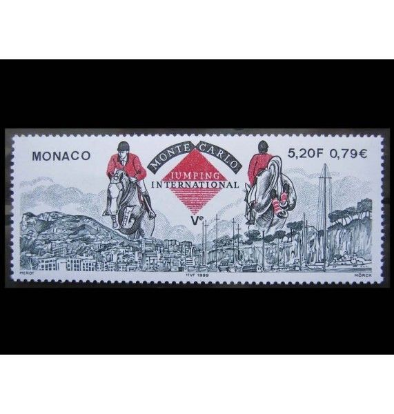 """Монако 1999 г. """"Международные соревнования по конкуру"""""""