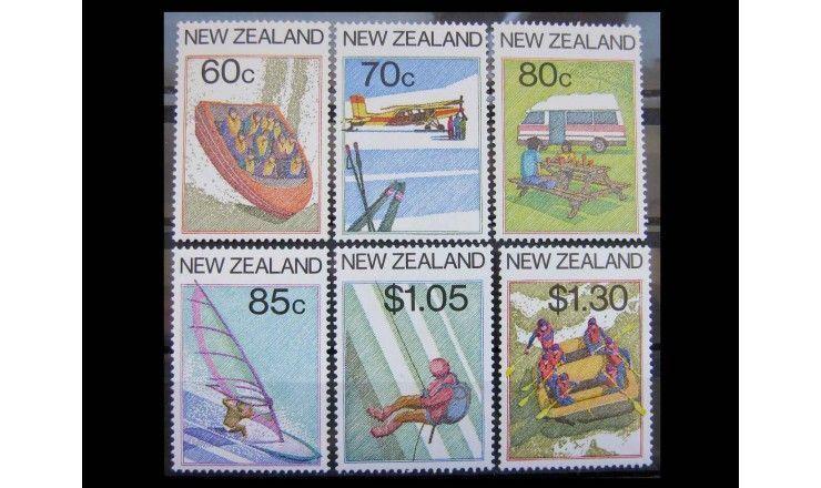 """Новая Зеландия 1987 г. """"Туризм"""""""