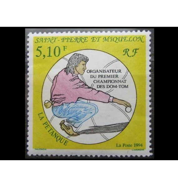 "Сен-Пьер и Микелон 1994 г. ""Спорт"""