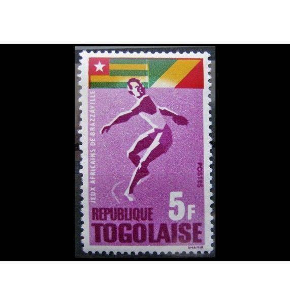 """Того 1965 г. """"Африканские игры в Бразавилле"""""""