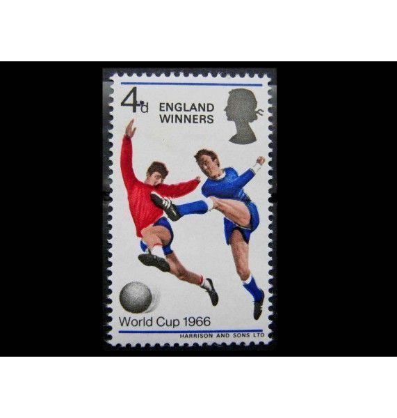 """Великобритания 1966 г. """"Победители Чемпионата мира по футболу"""""""