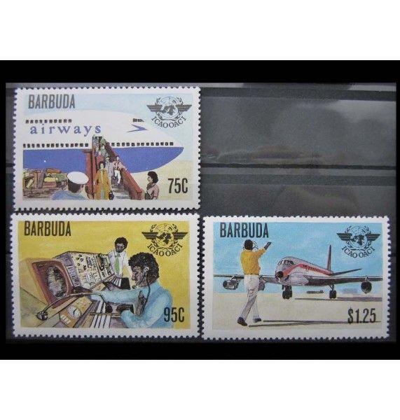 """Барбуда 1979 г. """"Межд. организация гражданской авиации"""""""