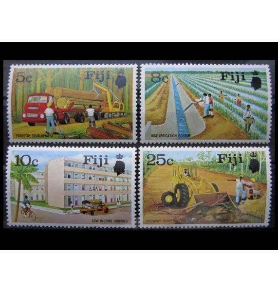 """Фиджи 1973 г. """"Национальные программы развития"""""""