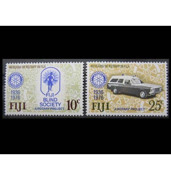 """Фиджи 1976 г. """"50-летие Ротари-клуба в Фиджи"""""""