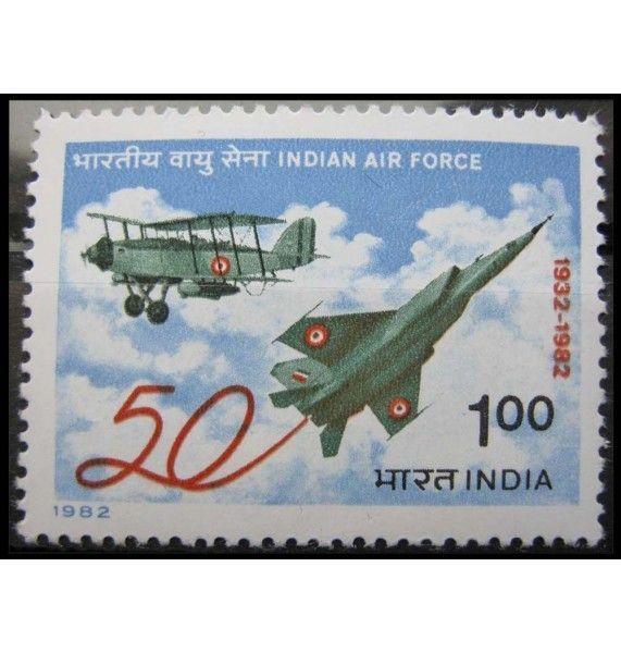 """Индия 1982 г. """"50-летие индийским ВВС"""""""