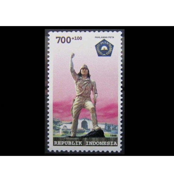 """Индонезия 1998 г. """"75-летие добровольной армии"""""""