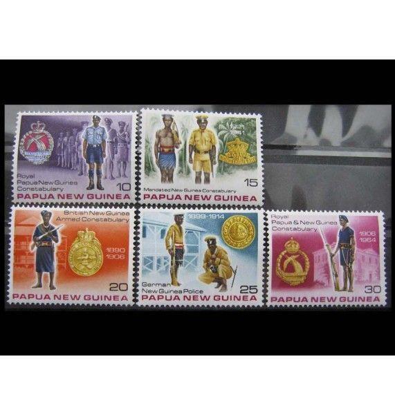 """Папуа-Новая Гвинея 1978 г. """"Королевская полиция - униформа"""""""